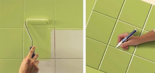 Renovar Azulejos Baño Sin Obra:Transformar cocina y baño sin obras es posible con Bruguer- Revista